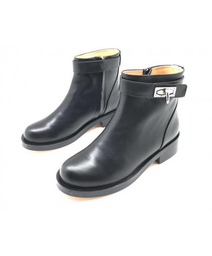 Ботинки Givenchy кожаные низкие черные