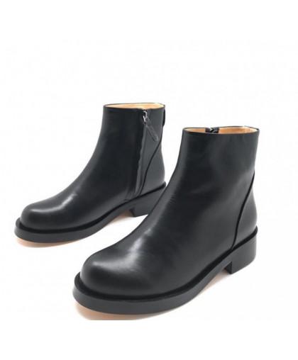 Ботинки Givenchy кожаные черные на молнии