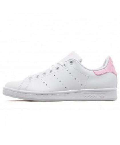 Женские Adidas Originals Stan Smith White/Pink