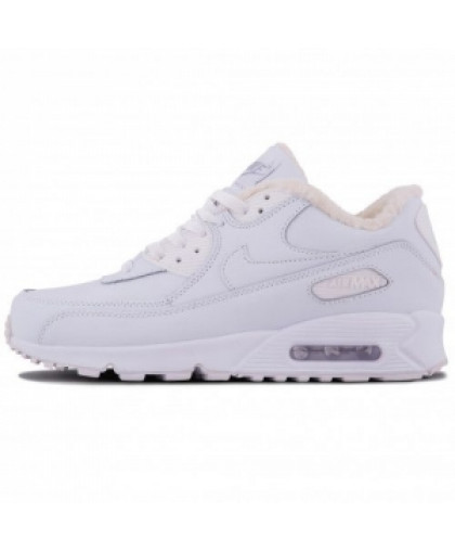 Зимние Nike Air Max 90 White With Fur