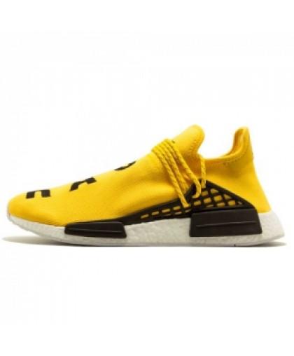 Мужские Pharrell Williams x Adidas NMD Human Race Yellow