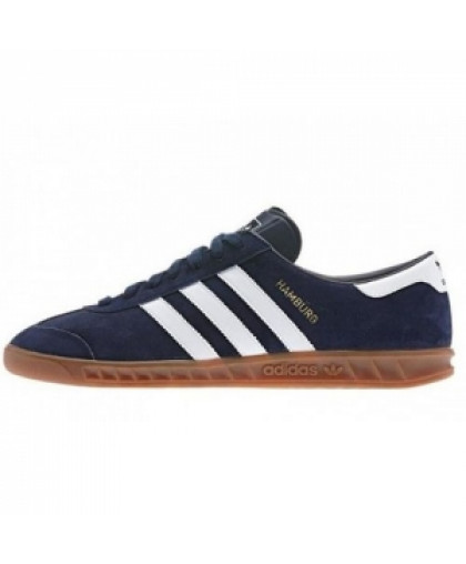 Унисекс Adidas Hamburg OG New Navy & Running White