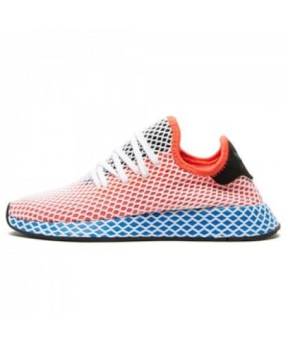 Унисекс Adidas Deerupt Runner Orange/Blue