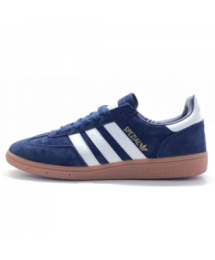 Мужские Adidas Spezial Dark Blue/White