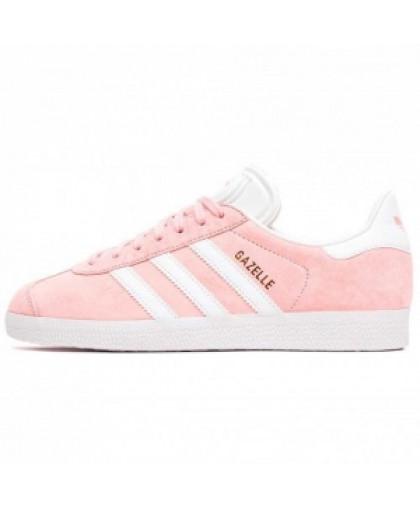 Женские Adidas Gazelle Lightly Pink/White