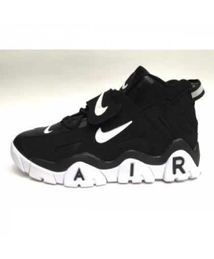 унисекс Nike Air Barrage Mid чёрные белье