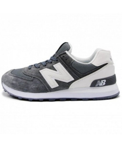 Женские New Balance 574 Gray/White
