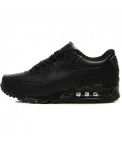 Унисекс Nike Air Max 90 Leather Black