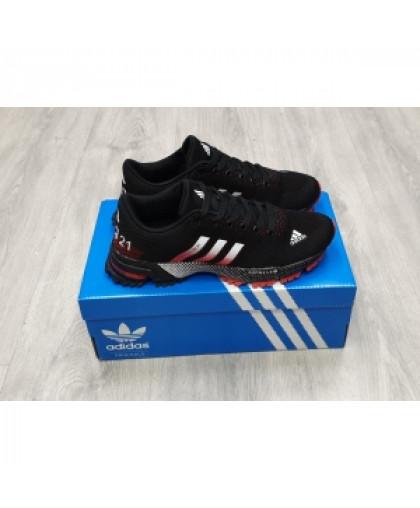 Кроссовки Adidas Marathon tr21 красно-черные