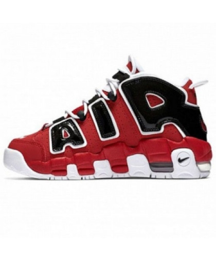 Унисекс Nike Air More Uptempo Red/Black