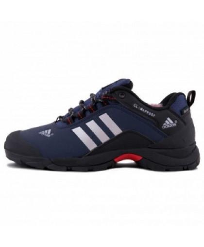 Зимние Adidas Terrex Climaproof Low Blue/Black With Fur