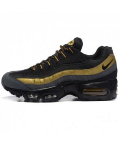 Унисекс Nike Air Max 95 Black/Gold